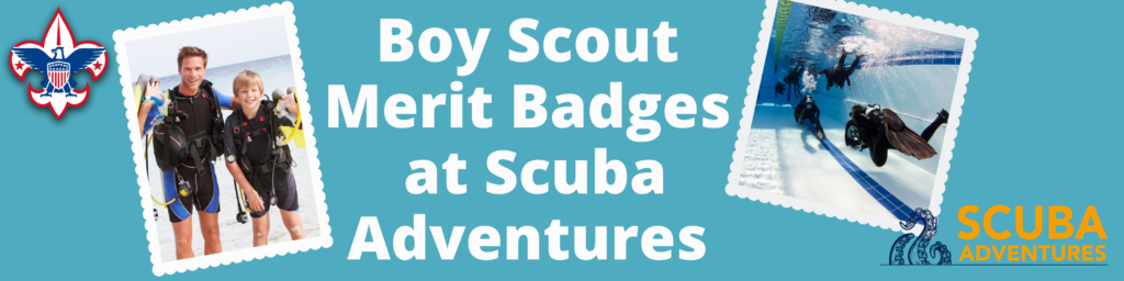 Boy Scout Merit Badges in Plano with Scuba Adventures
