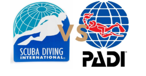 Scuba Diving Internation SDI vs PADI