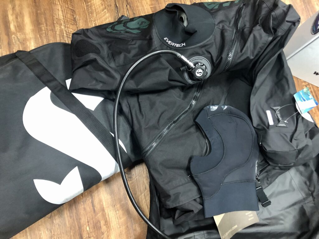 Drysuit ScubaPro Inflator