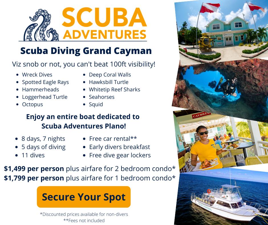 Scuba Diving Grand Caymen Caymen Islands